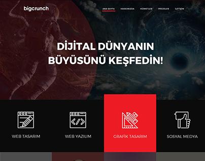 Big Crunch - Digital Media Agency | UI/UX Design