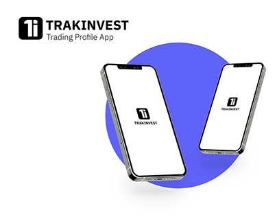 TRAKINVEST-A Trading Profile App | UX/UI Project
