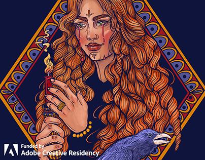 Tattoo Design in Adobe Fresco