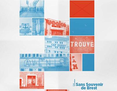Caractères typographiques - Sans Souvenir de Brest