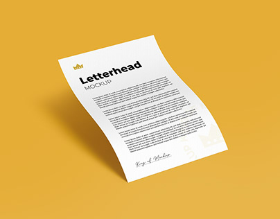 Letterhead A4 / A5 and Flyer Mockup