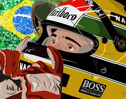 Ayrton Senna - 1º de Maio (Homenagem ao piloto)