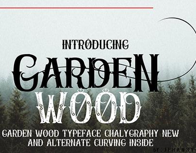 font garden wood
