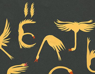 goose font