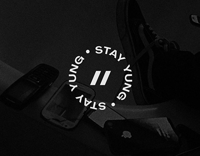 """Personal Brand Identity // """"Stay YUNG"""""""