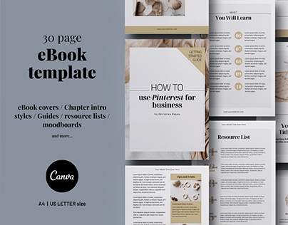 Canva eBook Templates