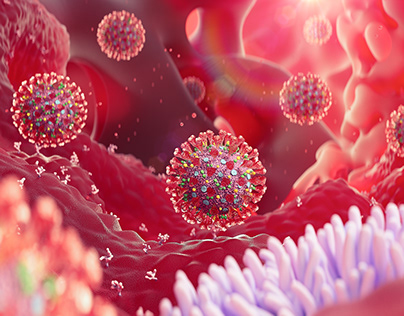 Coronavirus 3D Video Footage & Illustrations