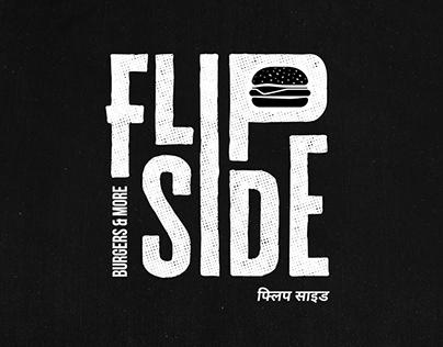 Flipside Burgers & More - Branding (2017)