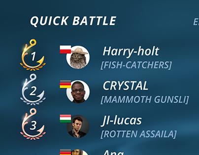 Ten Square — Fishing Clash, Quick Battles