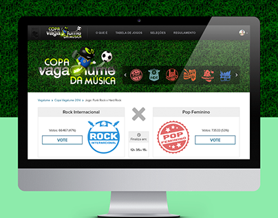 Copa Vagalume - Hotsite