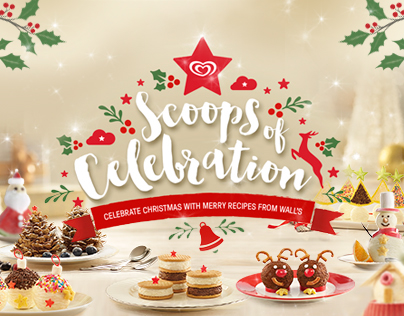 Wall's | Scoops of Celebration - Christmas