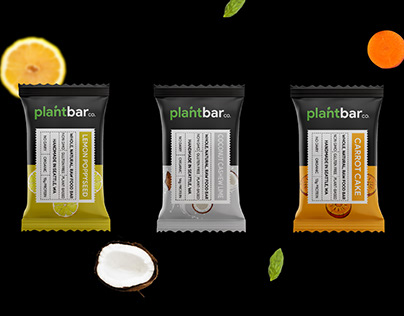 PlantBar Branding and Packaging