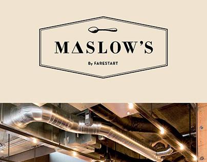 FareStart Maslow's flyer