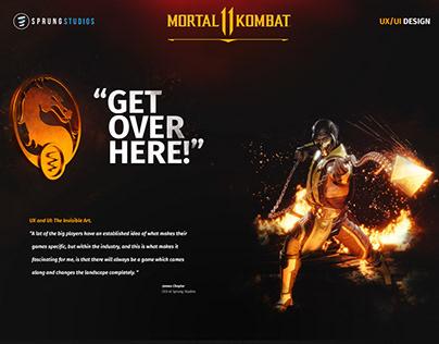 Mortal Kombat 11 | UI/UX Design
