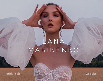 Redesign concept eShop wedding by Lana Marinenko
