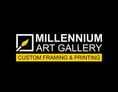 Millennium Art Gallery | Branding