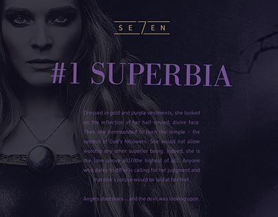 SE7EN #SUPERBIA