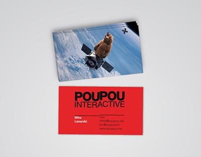 PouPou Interacive Visual Identity