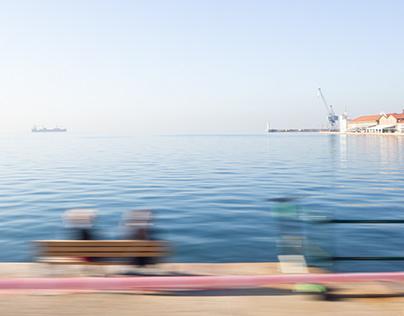 Approaching Thessaloniki