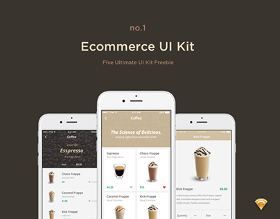 E-commerce UI Kit (Freebie)