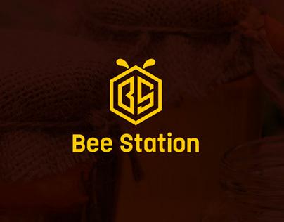 Bee Station   Brand Identity