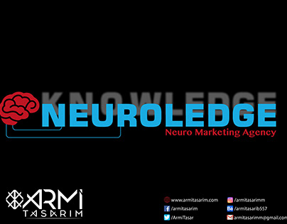 Neuroledge İçin Tasarladığımız Logo Tasarımı