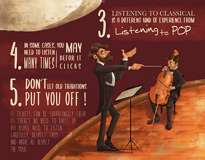 Infographic : How to Listen to Classical Music
