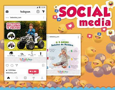 Artes y animaciones Social Media