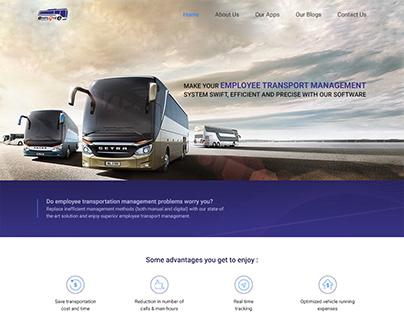 Employment Transport Management - Website Design