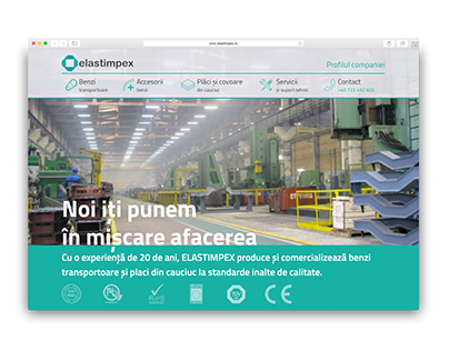 Elastimpex Romania - Website Design