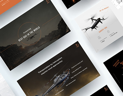Visual communication for drone startup