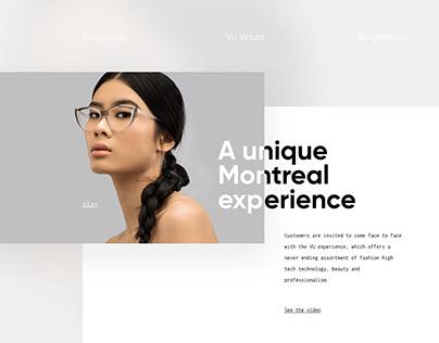 Vu.ca — Webdesign