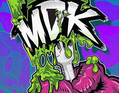 FEED MDK tee illustration