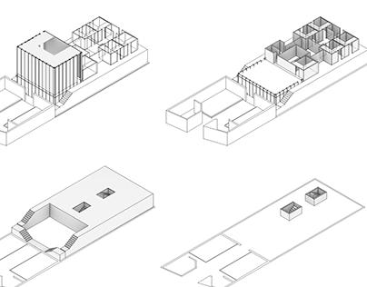 spiritual bathhouse precedent study diagram