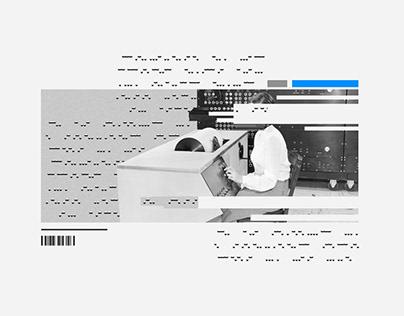 Lenguaje Invisible | collage serie 010