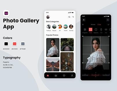Top Photo Editor App UI Design