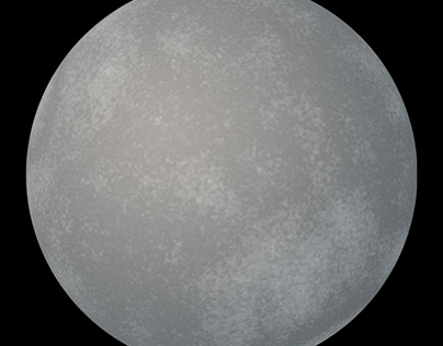 Generated Moon or Planet