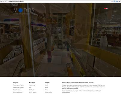 Modüs Mimarlık Web Site