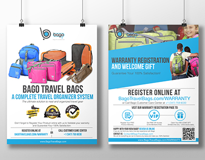 Bago Travel Bags Flyer
