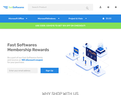 FastSoftwares Website