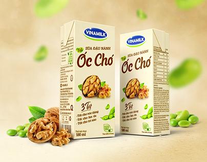 Walnut Soy Milk Packaging