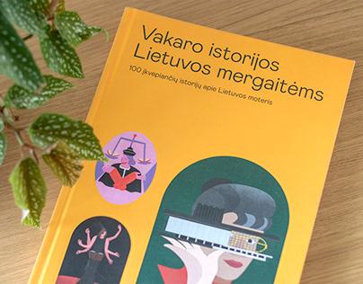 A book '' Vakaro istorijos Lietuvos mergaitems''