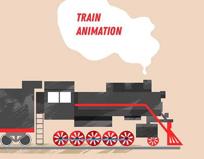 Animation for RZD - Train