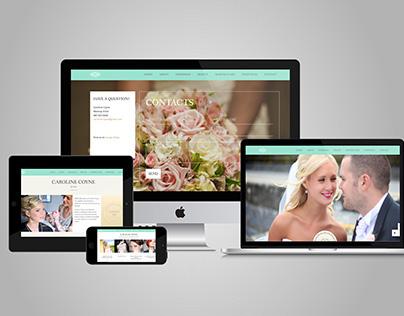 Caroline Coyne Makeup Website