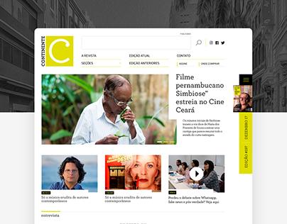 Continente Magazine clean webdesign portal