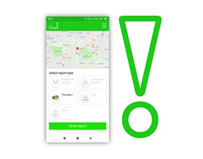 Onyo! - HackYeah 2019 app concept