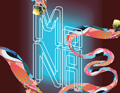 Poster series for the Museum of Neon Art in Glendale
