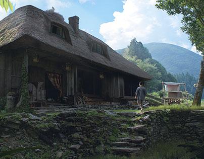 The Potion Maker's House (Environment Concept Art)