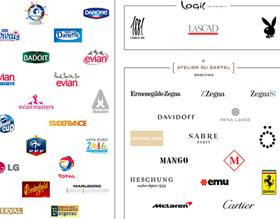 The brands I worked for - 1998 / 2021