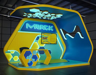 Merck Booth Design